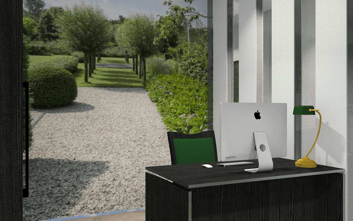 3D tekening kantoor