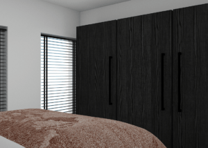 3d tekening slaapkamer